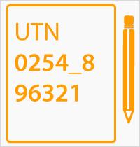 registro utn number