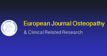 European Journal Osteopathy